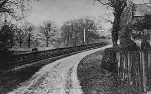 Photograph of Parlington Lane and the Aberford Railway (Brian Hull)