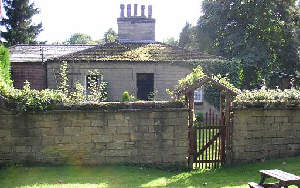 The gamekeeper's cottage near the gas works
