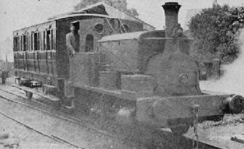 Mulciber at Aberford, before 1907. Note the good condition of the coach