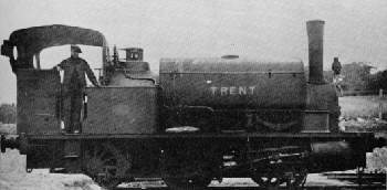 Hudswell Clarke 0-6-0 'Trent' at Garforth Colliery