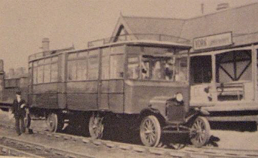 Ford Railbus in 1924
