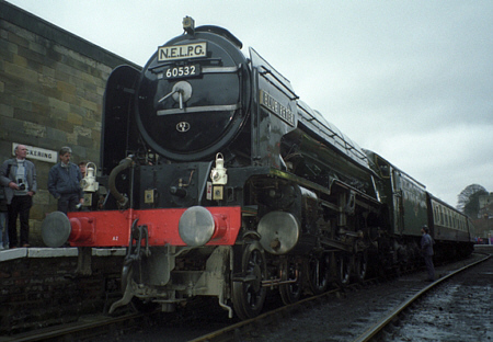 No. 60532 'Blue Peter' at its return to steam in the early 1990s (S.Woolrich)