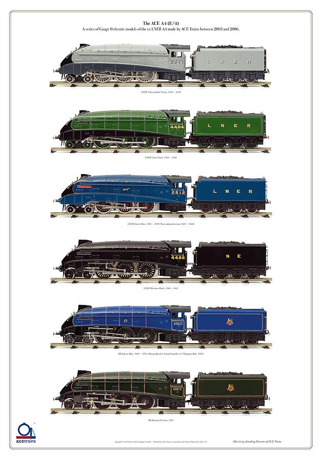 4mm nameplate:60016 /'Silver King/' LNER A4 00 Gauge