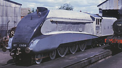 A4 No. 60019 'Bittern' as No. 2509 in 1994 (M.Morant)