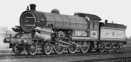Raven Class B15 No. 825 with Stumpf Uniflow cylinders