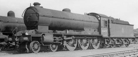 Raven Class B16/1 No. 61471 at Newport in 1957 (PH.Groom)