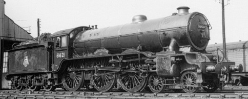 Class B17/6 No. 61621 at March in 1956 (PH.Groom)