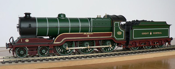Morgan Gilbert's model of a B2 in GCR livery (M.Gilbert)