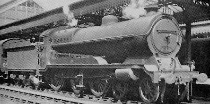 Robinson Class B6 No. 5416 at Nottingham Victoria, 1936