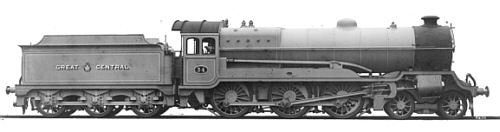 Robinson Class B7 GCR No. 34, works photograph (M.Peirson)