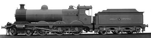 Robinson Class B9 GCR No. 1113, works photo (M.Peirson)