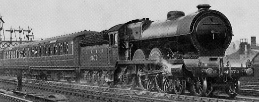 NBR C11 No. 9870 'Bon-Accord' leaving Aberdeen in 1928