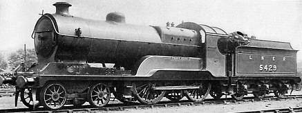 Class D10 'Director' No. 5429 Prince Henry at Neasden in about 1925