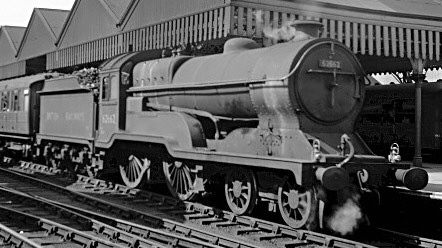 Class D11/1 No. 62662 'Prince of Wales' at Sheffield in 1949 (M.Morant)