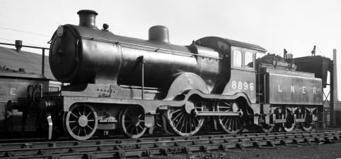 Unique D15/2 No. 8896 with decorative valences removed, mid-1930s Cambridge (M.Morant)