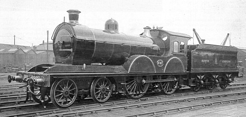 D20 No. 2027, saturated with short smokebox (M.Peirson)