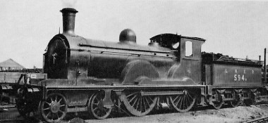 D25 No. 594B at Stirling in 1926