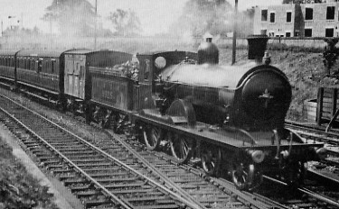D26 No. 9325 at Craigentinny in about 1924