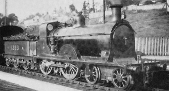 D27 NBR No. 1323 at Inverkeithing in 1923