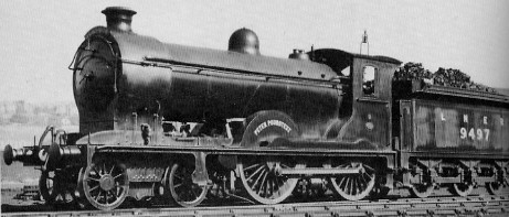 D30/2 No. 9497 'Peter Poundtext' at Eastfield shed in about 1928