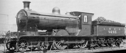 D36 No. 9695 at Parkhead in May 1928