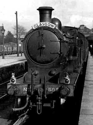 D36 No. 9695 at Alloa (D.Henderson)