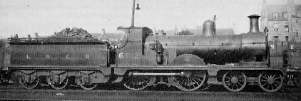 Superheated D43 No. 6812 at Kittybrewster in about 1930