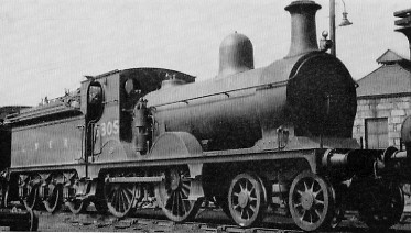 D46 No. 6805 at Kittybrewster in about 1932