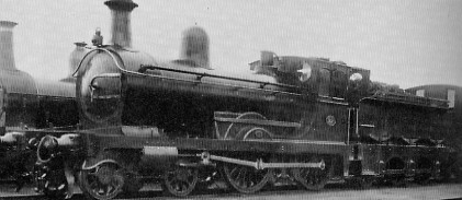 D47/2 GNSR No. 45A with weatherboard, at Kittybrewster in about 1921