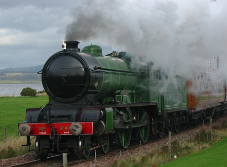 D49 No. 246 'Morayshire' in steam (Roger Haynes and the SRPSS)