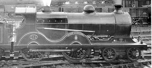 Class D9 GCR No. 104 'Queen Alexander', long firebox (M.Peirson)