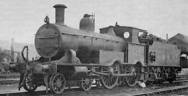 M&GN Class A Rebuild No. 025 at Spalding in about 1938