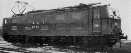 EM1 Prototype No. 6701 at Doncaster in 1941