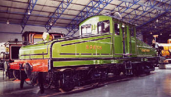 ES1 BoBo at the National Railway Museum (Robert Langham)
