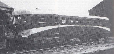 The Metro-Vick-Cammell 58 seat railcar