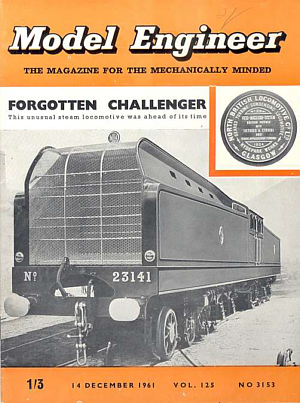 Model Engineer Cover, 14th Dec. 1961