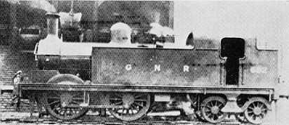GNR Stirling G2 0-4-4T Locomotives
