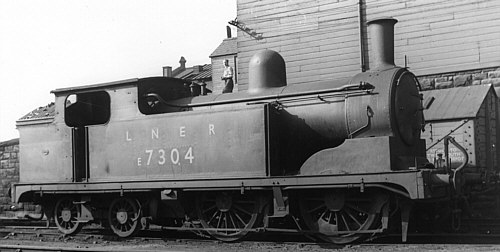 Worsdell G5 0-4-4T BR No. E7304 (D.Hey)