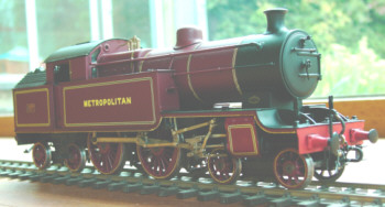 Sans Pareil O gauge model of a Class H2 4-4-4T (John Birch)