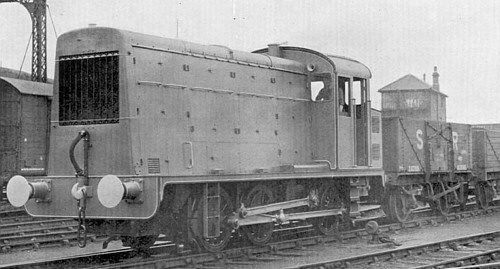 Armstrong Whitworth diesel electric 0-6-0 shunter