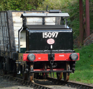 Simplex 4wDM restored as BR No. 15097 at Beamish (D.Nicol)