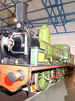 NER '1001' Class, No. 1275 at the National Railway Museum (Geoff Byman FRPS)