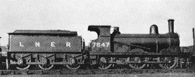 J15 at March in 1935, with cast iron chimney and level grate
