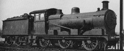 J17 No. 8211 at Peterborough in 1939