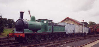 Preserved J21 at Beamish (Robert Langham)
