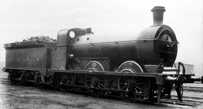 HBR Class B No. 77 (LNER J23) on loan to the South East and Chatham Railway (M.Peirson)
