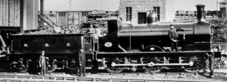 J33 NBR No. 128 at Burnbank Shed (M.Peirson)