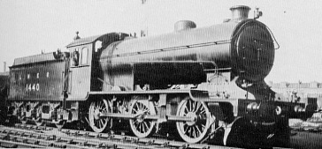 J38 No. 1440 at Gorgie in 1926