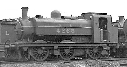 J52/2 No. 4368 at Colwick in July 1938 (M.Morant)