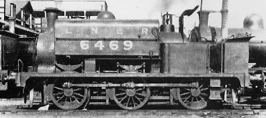 J61/1 No. 6469, at Immingham in 1926